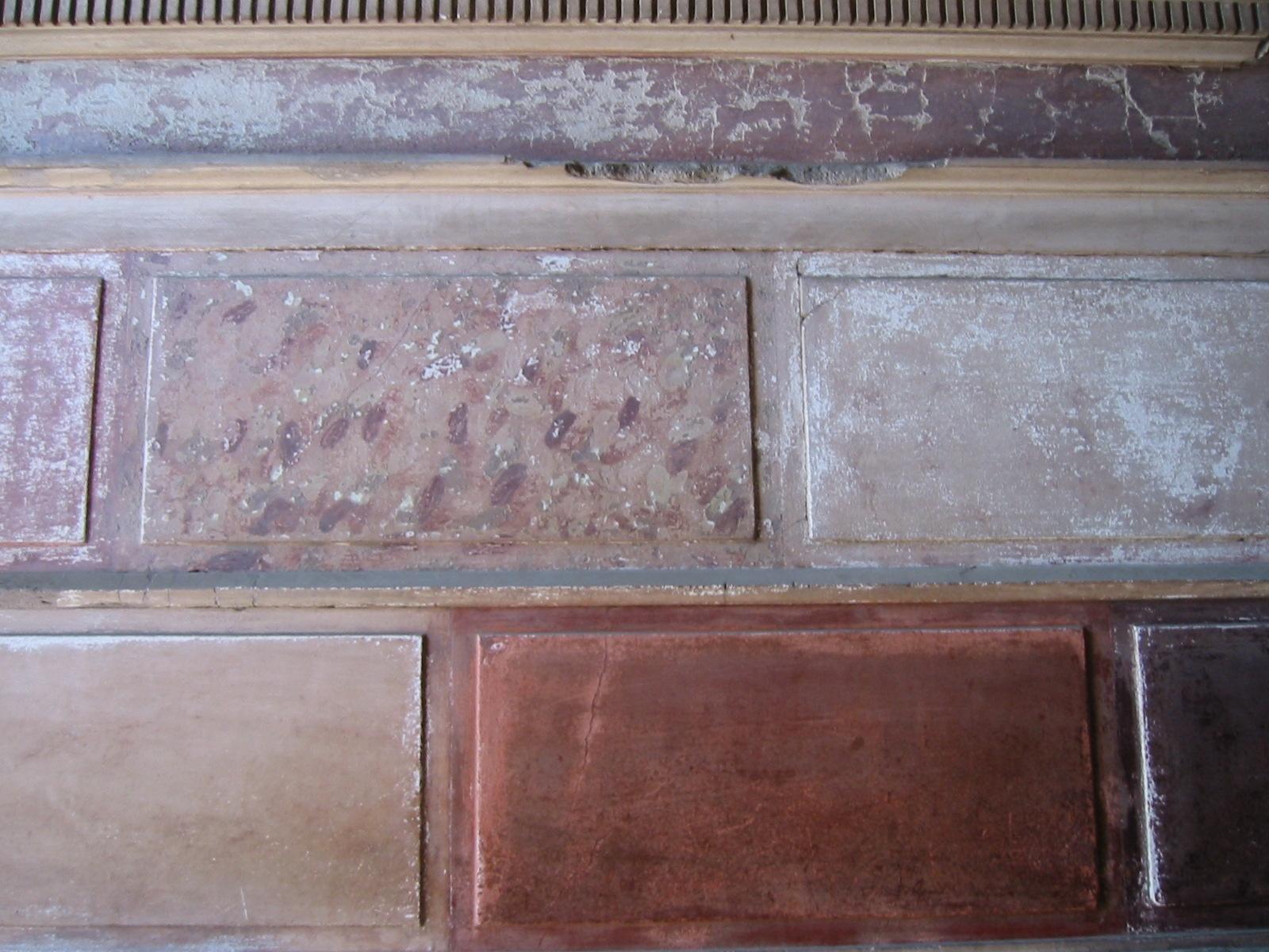 ポンペイの壁画第一様式