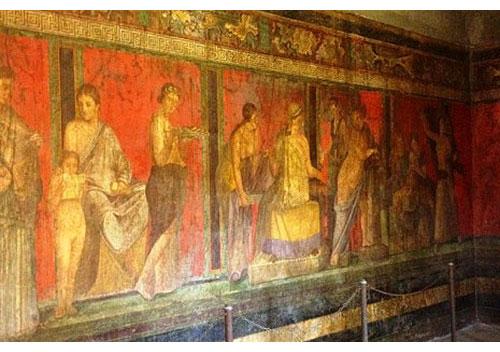 ポンペイの壁画第二様式
