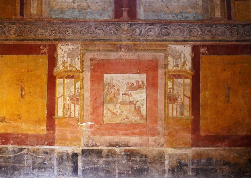 ポンペイの壁画第三様式