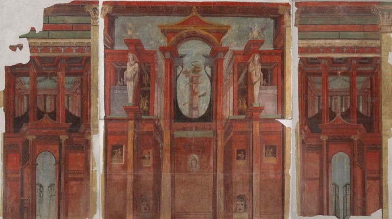 ポンペイの壁画第四様式